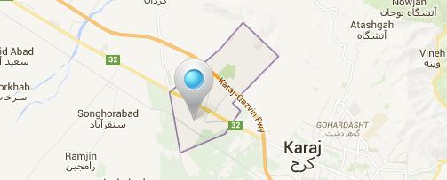 map-karaj-kamalshahr